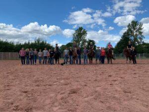 Ranchhorse Kurs mit Maik Bartmann auf der Mühlentalranch